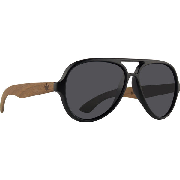 THE AVIATOR - Polarized Sunglasses *FREE SHIPPING* -wood sunglasses by Mitchell-Made.com