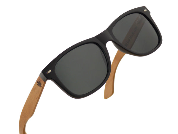 Red Wood Polarized Sunglasses - Wayfarer -wood sunglasses by Mitchell-Made.com