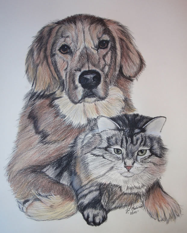 Pet Artist, Joyce Medina- May 19th, Happy Tails Franklin Store Event