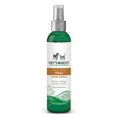 Vet's Best Natural Flea + Tick Spray Various Sizes