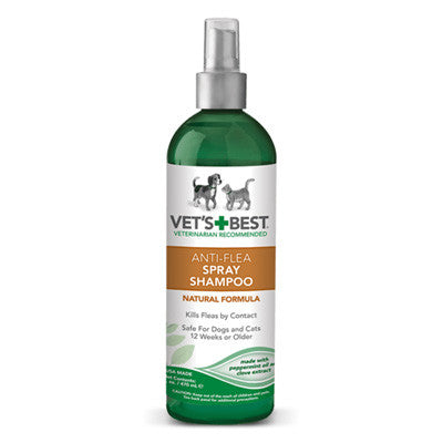 Vet's Best Anti-Flea Spray Shampoo (16oz)