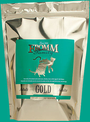 Fromm Adult Gold Cat Food Various Sizes