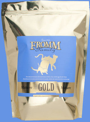 Fromm 5lb Mature Gold Cat Food