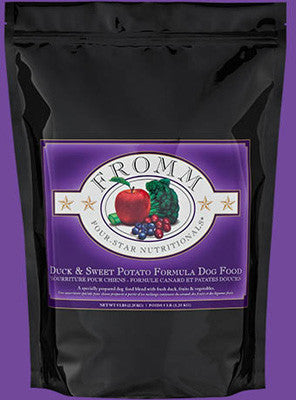 Fromm Four Star Dry Dog Food Duck & Sweet Potato