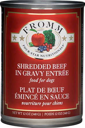 Fromm 12 oz Four Star Grain Free Shredded Beef
