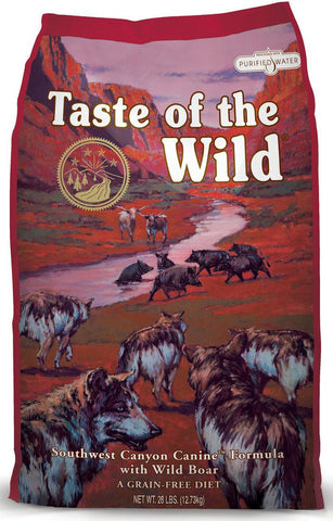Taste of the Wild Grain Free Dry Dog Food Southwest Canyon® Canine Formula with Wild Boar