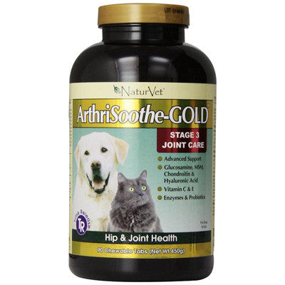 Naturvet Arthrisoothe-Gold Tablets, 90 Count