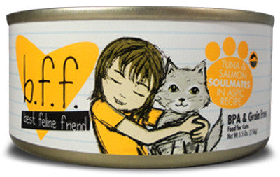 Weruva Grain Free Canned Cat Food Recipes Tuna and Salmon  5.5oz