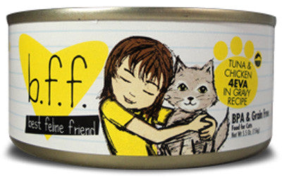 Weruva Grain Free Canned Cat Food Recipes Tuna and Chicken  5.5oz