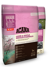 Acana Singles Formula-Grain Free Lamb & Apple