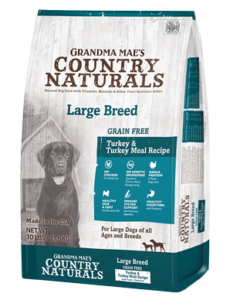 Grandma Mae's Grain-Free Large Breed Recipe (Puppy & Adult) Dog Food