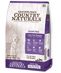 Grandma Mae's Grain-Free Single-protein Low Fat Recipe Dog Food