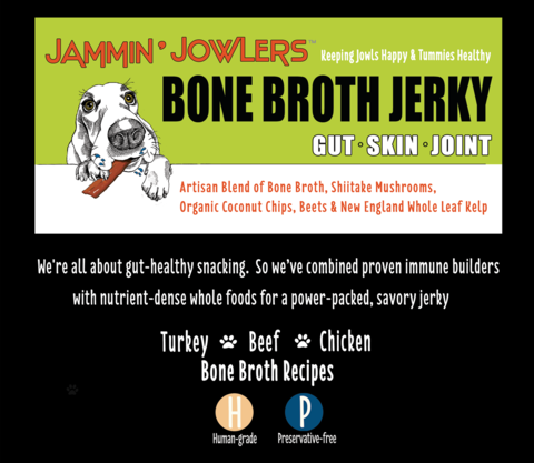 Nuggets Bone Broth Jerky - 5oz (Various Flavors)