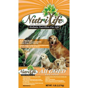 NutriLife All Gold Grain Dog Food