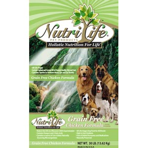 NutriLife Chicken Grain Free Dog Food