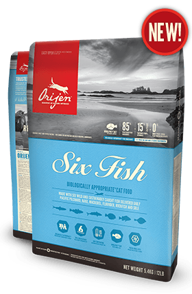 Orijen Six Fish Grain Free Cat Food