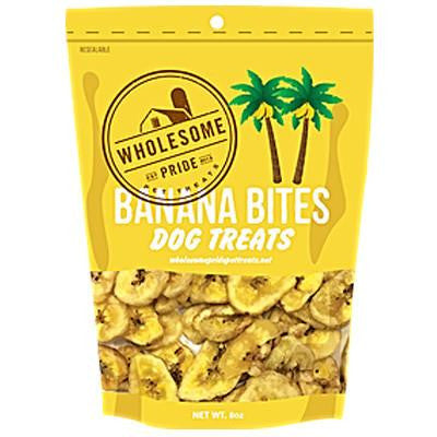 Wholesome Pride Grain Free Banana Bites
