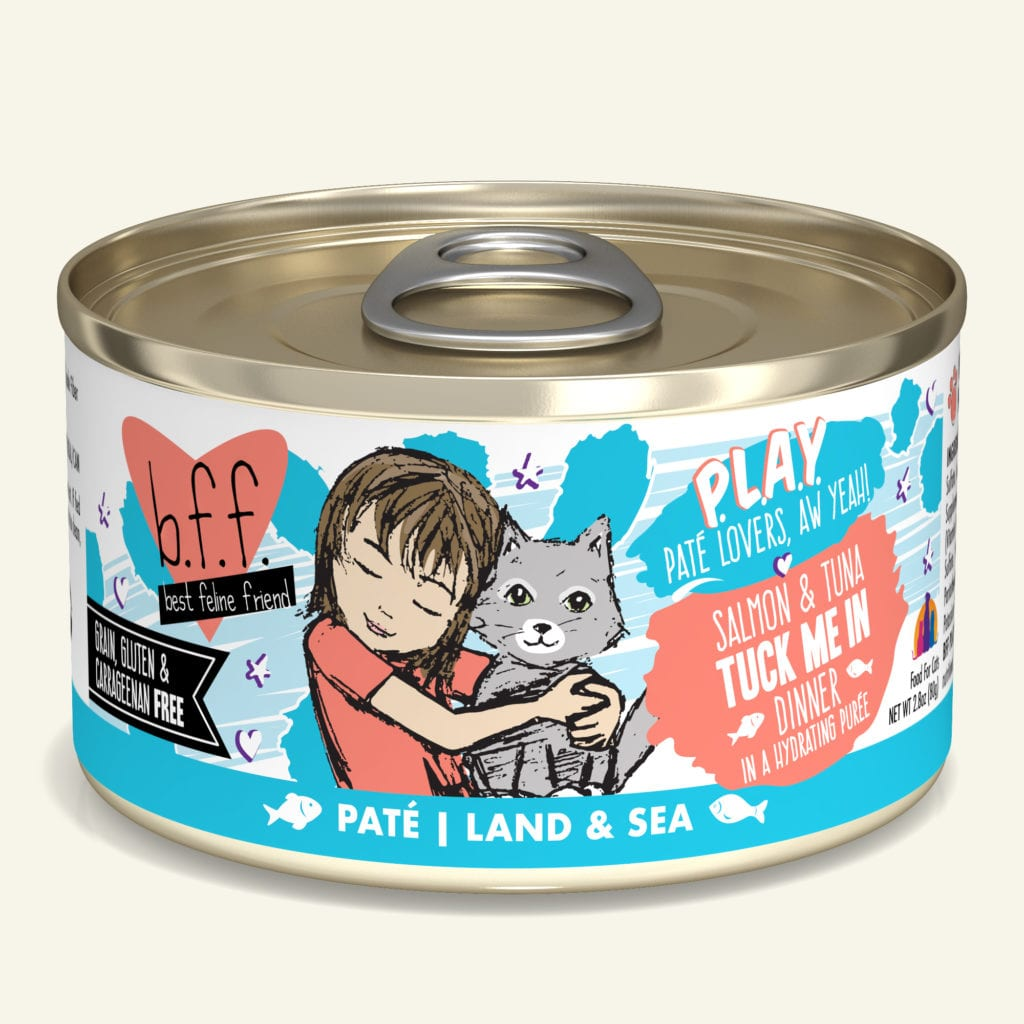 "Weruva BFF Salmon & Tuna ""Tuck Me In"" cat food 5.5 oz"