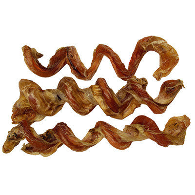 "Jones Natural Chews Curly Q Chew (6-8"" bully stick beef pizzle)"
