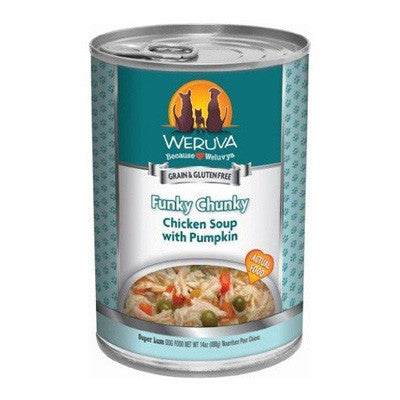 Weruva Canned Dog Food Funky Chunky Chicken Soup -5.5oz-