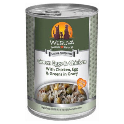 Weruva Canned Dog Food Green Eggs & Chicken -5.5oz-