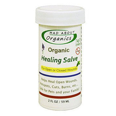 Mad About Organics All Natural Pet Herbal Healing Salve 2oz