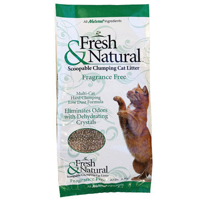 Fresh & Natural Scoopable Clay Cat Litter