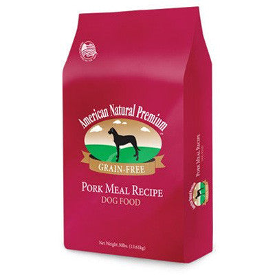 American Natural Premium Grain Free Dog Food Pork