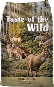 Taste of the Wild Grain Free Dry Dog Food Pine Forest Canine® Formula with Venison