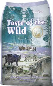 Taste of the Wild Grain Free Dry Dog Food Sierra Mountain Canine® Formula with Roasted Lamb