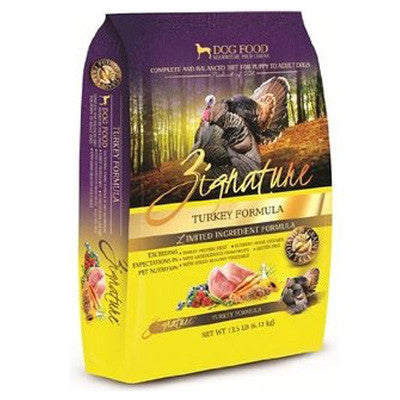 Zignature Grain Free Dry Dog Food Turkey