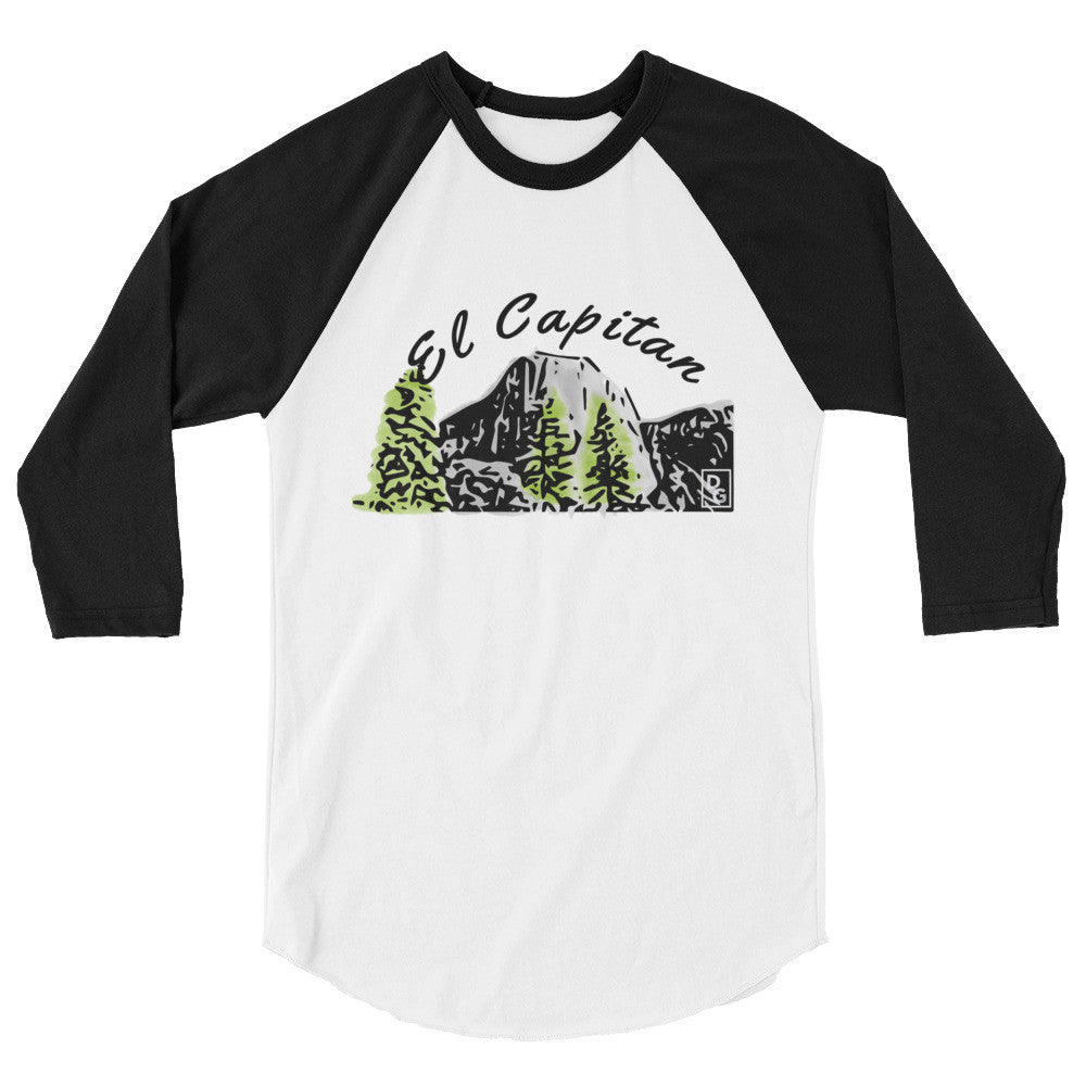 El Capitan 3/4 Sleeve Raglan Shirt (more colors available)