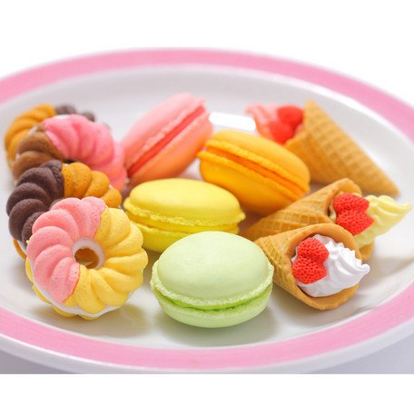 Erasers - Pastries and Cakes - OyatsuCafe