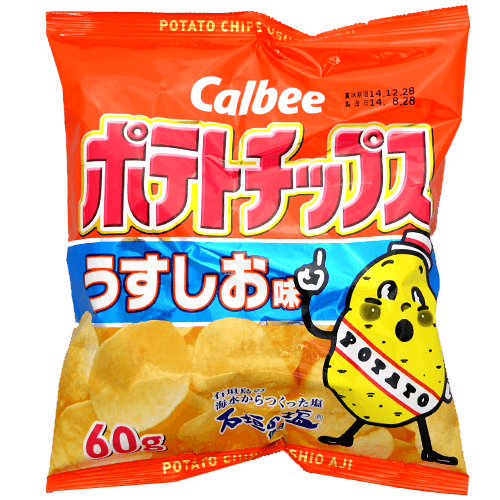 Calbee Lightly Salted Chips - OyatsuCafe