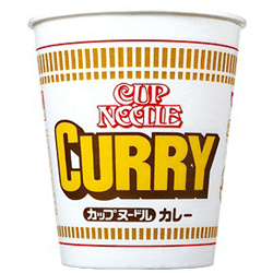 Curry Cup Noodle - OyatsuCafe