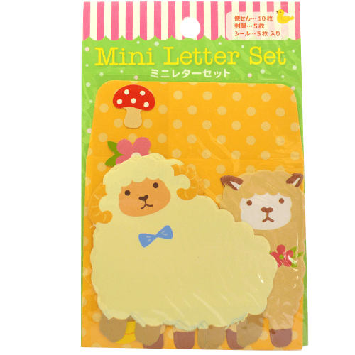 Animal Mini-Letter Set - OyatsuCafe