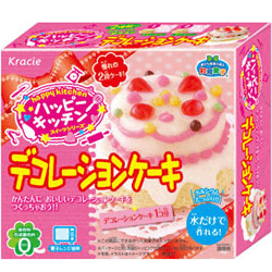 Kracie Happy Kitchen - Cake Decoration Set - OyatsuCafe