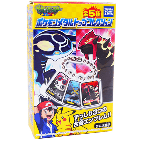Pokemon - Metal Top Collection - OyatsuCafe