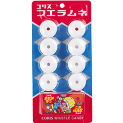 Coris Ramune Whistle Candy & Toy - OyatsuCafe