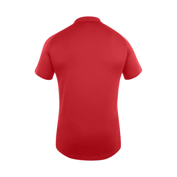 Team Dry Polo - Flag Red/White