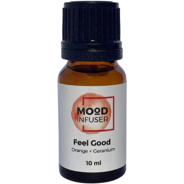 Mood Infuser's feel good aromatherapy blend