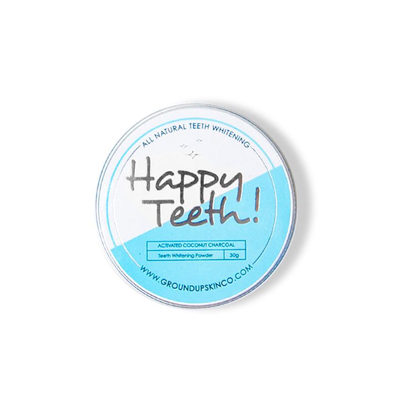 Happy Teeth Charcoal Teeth Whitening