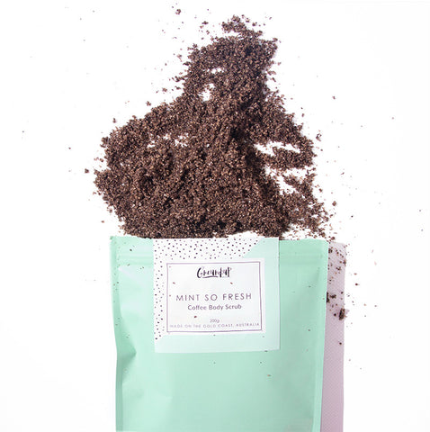 Chocolate Mint Coffee Body Scrub