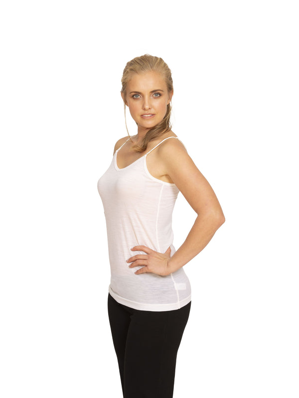 Nature's Secret - Merino Reversible Camisole - Made in New Zealand