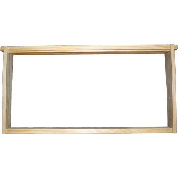 Assembled Wooden Frames (wedge top, divided bottom)