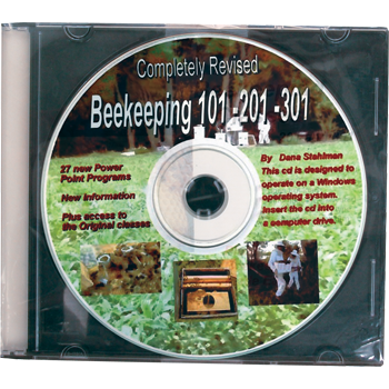 Beekeeping Class 101, 201 and 301 CD