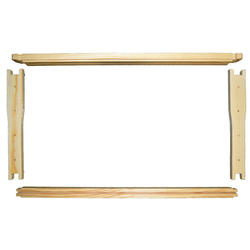 Wooden Frames (wedge top, grooved bottom)
