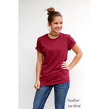 PLUS SIZE Longer Length Tee | 2X-4X