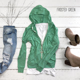 Frosted Triblend Hoodie | 9 Colors