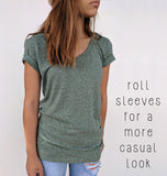 Marbled Soft Tee | SM-2XL